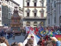 Scoppio del Carro - Florence
