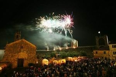 Monteriggioni Wears a Crown of Towers